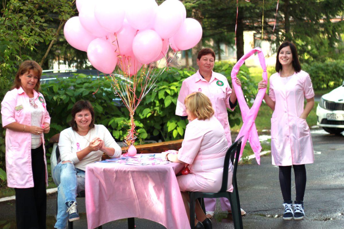 7 сентября в Запрудненском филиале Талдомской ЦРБ прошла акция «Розовая лента»