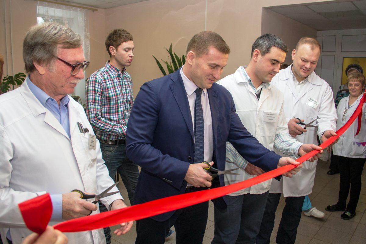 Открытие флюорографического кабинета 14.01.2015